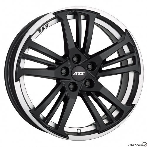 ATS Prazision 8,5x19 5/112 ET45 d-70,1 Racing Black Double Lip Polished