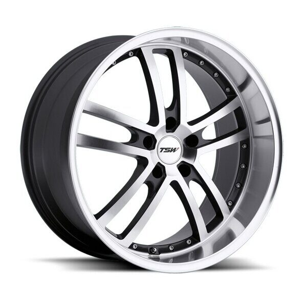 TSW Cadwell 8,0x18 5/114,3 ET40 d-76 Gunmetal Mirror Cut Face Lip
