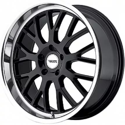 TSW Tremblant 8,0x18 5/112 ET45 d-72 Gloss Black Mirror Cut Lip