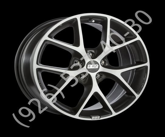 BBS SR019 8,0x18 5/120 ET32 d-82 Vulcano Grey Diamond Cut (0360542#)