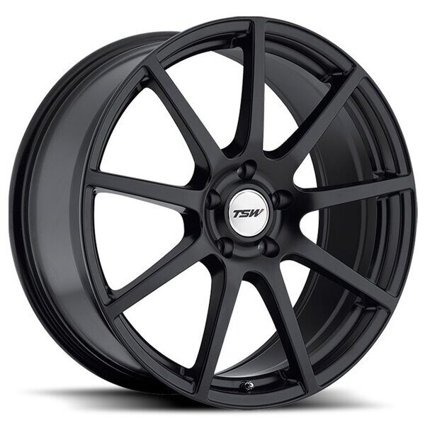 TSW Interlagos 7,5x18 5/114,3 ET45 d-76 Matt Black
