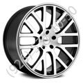 TSW Donington 8,0x18 5/114,3 ET42 d-76 Gunmetal Machined Cut Face