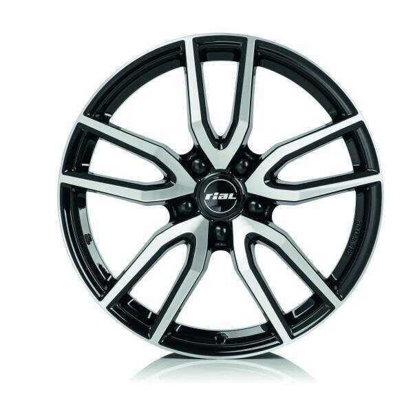 Rial Torino 6,5x16 5/100 ET47 d-57,1 Diamond Black Front Polished