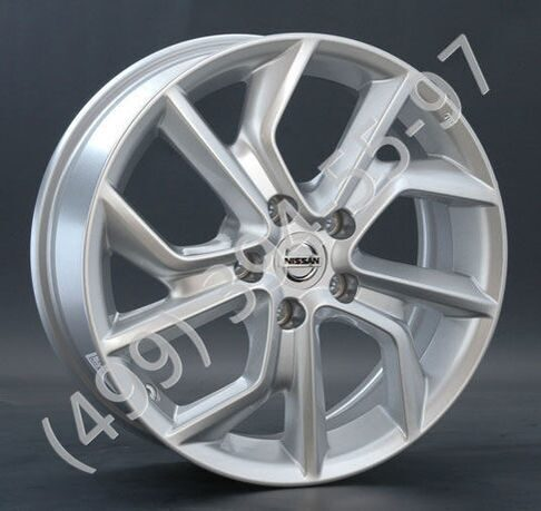Replica NS73 6.5x17 5x114.3 ET45 D66.1 S