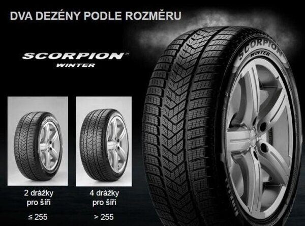 Pirelli 275/45R20 110V  XL Scorpion Winter