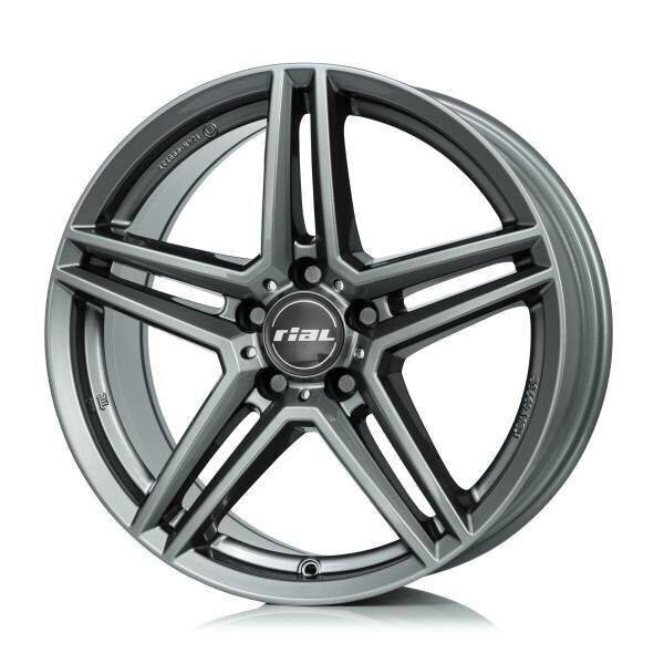 Rial M10 6,5x17 5/112 ET38 d-66,5 Metal Grey