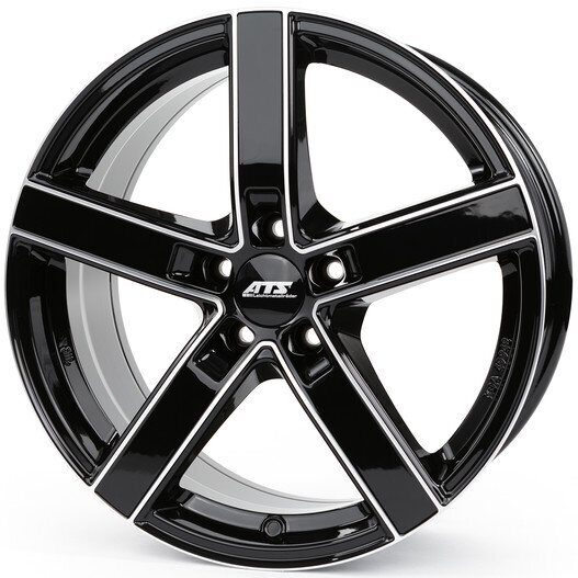 ATS Emotion 7,5x17 5/100 ET35 d-57,1 Diamond Black Front Polished