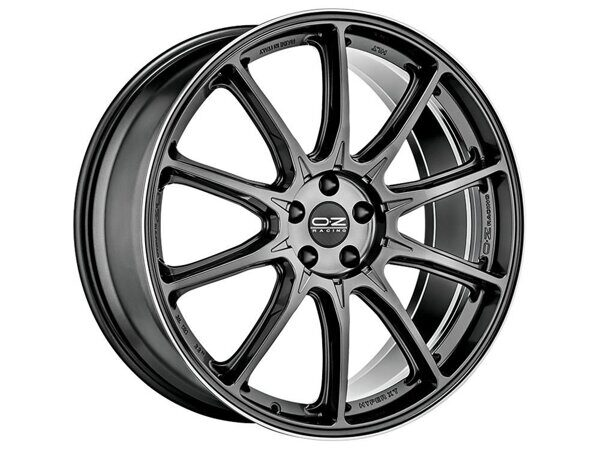 OZ Hyper GT HLT 10,0x20 5/112 ET33 d-66,46 Star Graphite Diamond Lip