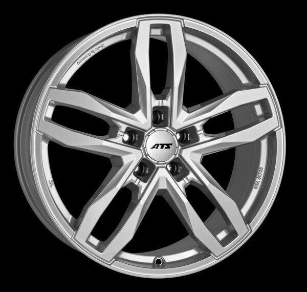ATS Temperament 9,5x20 5/130 ET60 d-71,6 Royal Silver