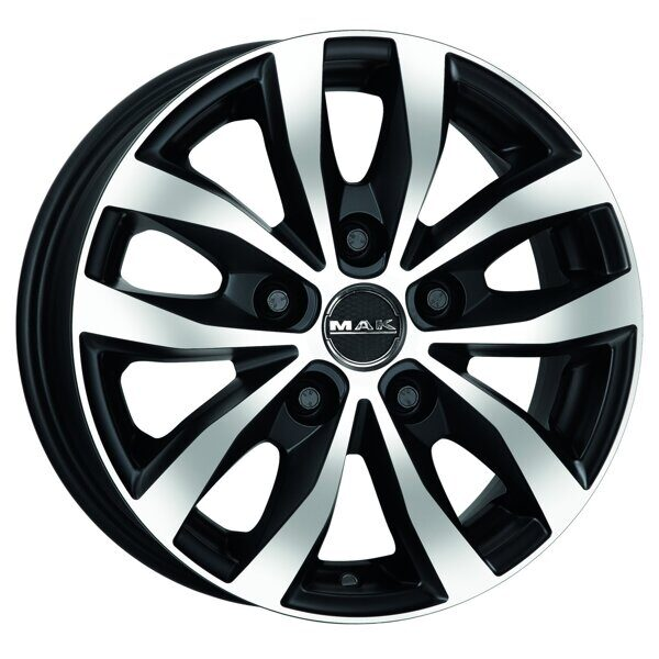 MAK Load 5 6,5x15 5/118 ET55 d-71,1 Ice Black