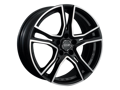 OZ Adrenalina 8,0x17 5/112 ET35 d-75 Matt Black Diamond Cut