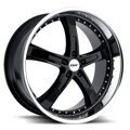 TSW Jarama 8,0x17 5/112 ET45 d-72 Gloss Black Mirror Cut Lip