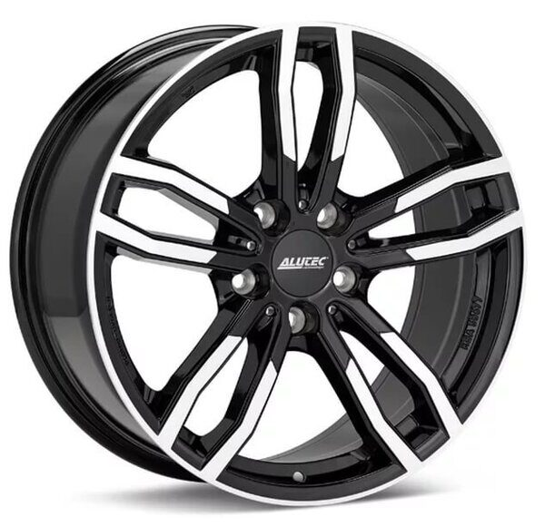 Alutec Drive 7,5x17 5/120 ET34 d-72,6 Diamond Black Front Polished