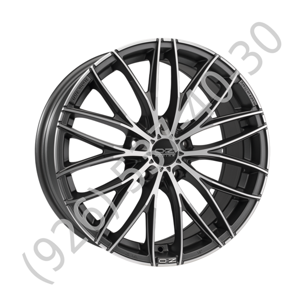 OZ Italia 150 8,0x18 5/120 ET45 d-79 Matt Dark Graphite Diamond Cut (W0188420649) d-XL