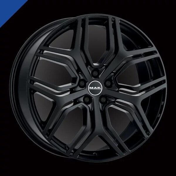MAK Kingdom 8,5x20 5/120 ET47 d-72,6 Gloss Black