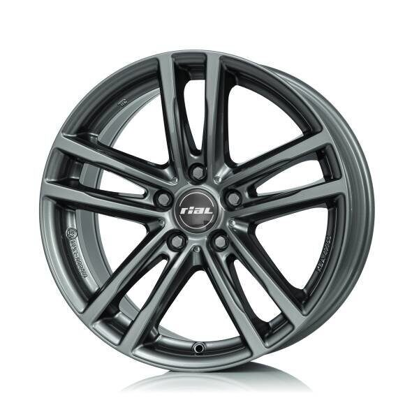 Rial X10 7,0x16 5/112 ET47 d-66,5 Metal Grey