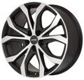Alutec W10 9,0x20 5/120 ET43 d-65,1 Racing Black Front Polished