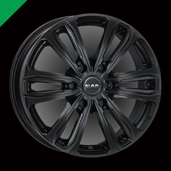 MAK Safari 6 8,0x18 6/114,3 ET45 d-66,1 Gloss Black