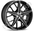 OZ Quaranta 4 7,0x17 4/108 ET25 d-75 Matt Black Diamond Cut